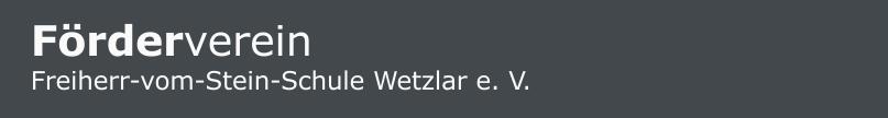 Frderverein Steinschule Wetzlar